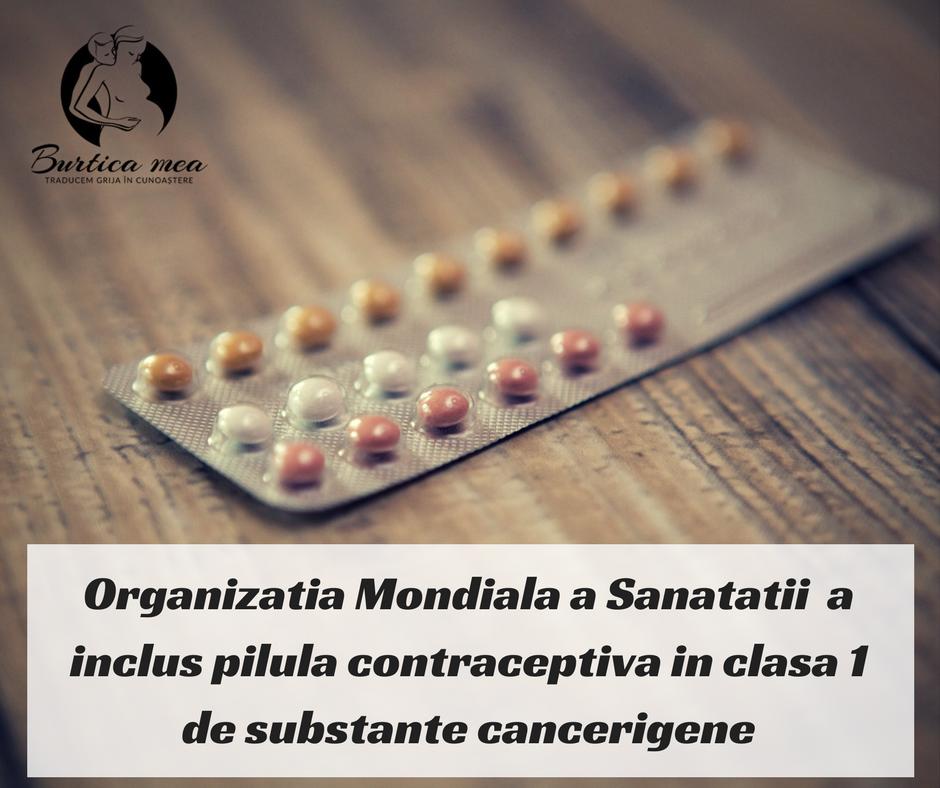Photo of Pilula contraceptivă combinată, clasată oficial printre cele mai cancerigene substanțe de Organizația Mondială a Sănătății