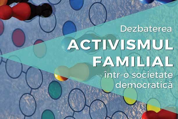 """Photo of 19 septembrie 2017. Dezbatere la Iași: """"Activismul familial într-o societate democratică"""""""