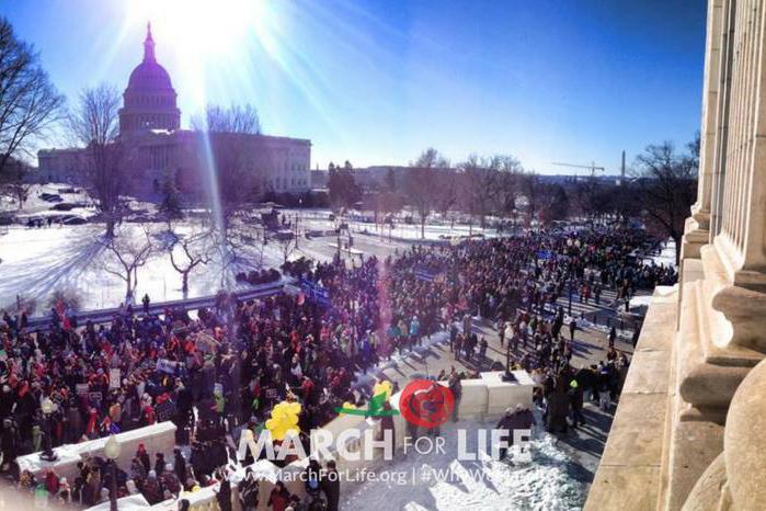 """Photo of """"Dragostea salvează vieți"""" va fi tema Marșului pentru Viață de la Washington, DC din 19 ianuarie 2018"""