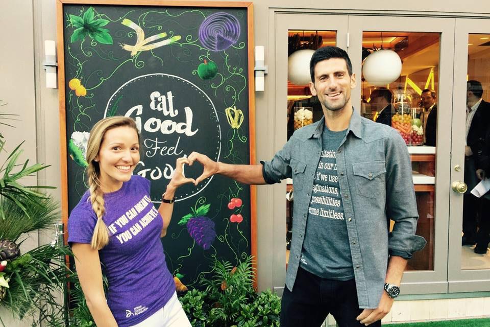 """Photo of Novak Djokovic face filantropie: """"Vreau să dau înapoi Serbiei ceea ce mi-a oferit. Am câștigat suficienți bani cât să hrănesc toată Serbia"""""""