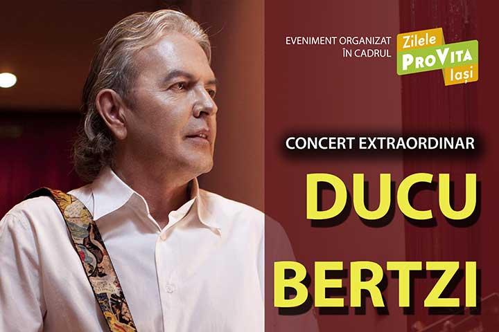 Photo of Zilele Pro Vita Iași, ediția a VII-a: Concert caritabil Ducu Bertzi