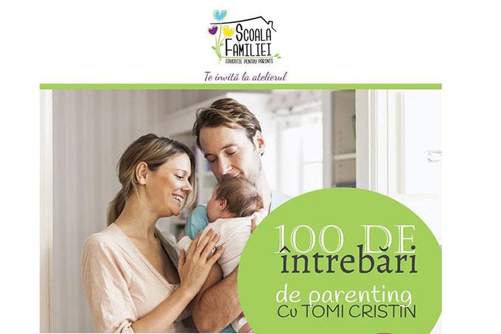 Photo of Școala Familiei București: 100 de întrebări de parenting cu actorul Tomi Cristin