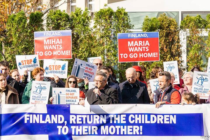"""Photo of COMUNICAT. Coaliția pentru Familie: """"În virtutea aceluiași interes superior al copilului trebuie respectate drepturile Mariei și ale lui Mihai Smicală și nu ȋncălcate grav dispozițiile Convenției ONU privind Drepturile Copilului, prin separarea de mamă, împotriva voinței lor"""""""