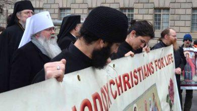 Photo of Mitropolitul ortodox Tihon rostește rugăciunea de deschidere la a 45-a ediție a Marșului pentru viață de la Washington