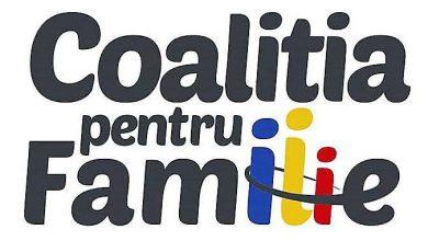 Photo of COMUNICAT: Coaliția pentru Familie susține demnitatea ființei umane și a familiei