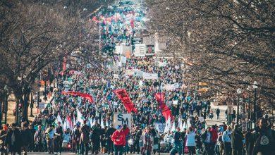 """Photo of AlexandraNadane.ro: """"Sute de mii de participanți la Marșul pentru viață de la Washington! La Marșul pentru viață din București, pe 24 martie, câți vor fi?"""""""