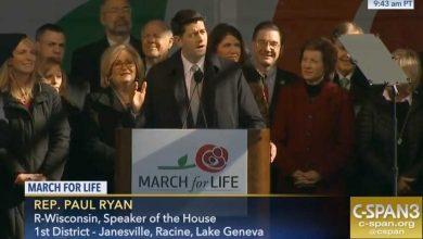 """Photo of VIDEO, transcriere. Paul Ryan, Președintele Camerei Reprezentanților din SUA, la Marșul pentru Viață: """"Ne străduim să transformăm și mandatul nostru din Congresul SUA într-un Marș pentru Viață"""""""