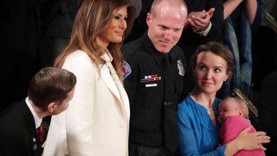 Photo of În discursul despre starea națiunii, Președintele Trump  lăudat un ofițer de poliție și pe soția sa pentru că au adoptat un copil a cărui mamă era dependentă de droguri