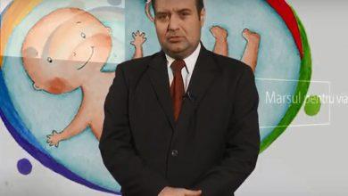 Photo of VIDEO. Lect. Univ. Dr. Bogdan Neculau susține Marșul pentru Viață