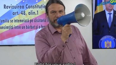 """Photo of VIDEO: """"Romania, you are not alone!"""" CitizenGO susține referendumul pentru căsătorie. Președintele Iohannis, întrebat ce caută în funcție dacă nu susține valorile românilor"""