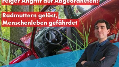 Photo of Germania: Unui parlamentar anti-imigrație i-au fost slăbite șuruburile de la roțile mașinii