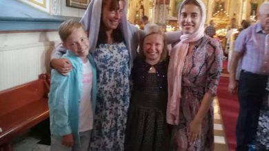 Photo of FOTO. Familia Smicală, reunită din nou. Au mers toți patru la biserică în Tampere