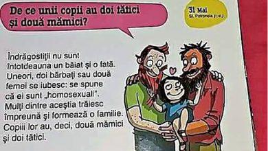 """Photo of Carte pentru copii (7-12 ani): """"Homosexualii formează o familie. Copiii lor au doi tătici și două mămici"""""""