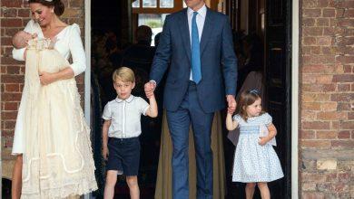 Photo of FOTO: Prințul William și Kate, ducesă de Cambridge la botezul Prințului Louis, cel de al treilea vlăstar regal