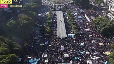 Photo of Peste 650.000 de argentinieni cer la Buenos Aires protejarea vieții copilului nenăscut