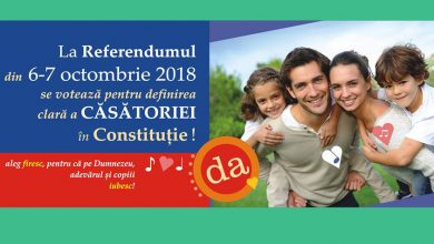 Photo of VIDEO. Siteul Doxologia.ro al Mitropoliei Moldovei votează DA la referendum, pentru căsătoria între un bărbat și o femeie