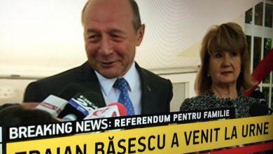 Photo of Traian Băsescu a votat sâmbătă dimineața