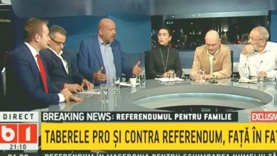 Photo of VIDEO. Emisiune despre referendum la B1 TV