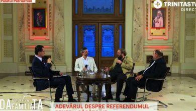 Photo of VIDEO. Dezbatere LIVE despre referendum transmisă simultan la Trinitas TV și Radio Trinitas