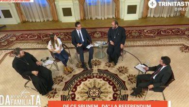 Photo of VIDEO. Trinitas TV. Despre referendum cu Vasile Bănescu, pr. Necula, pr. Mavrichi, Ioana Picoș, Ciprian Olinici