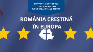 """Photo of Convenția Națională """"România creștină în Europa"""""""