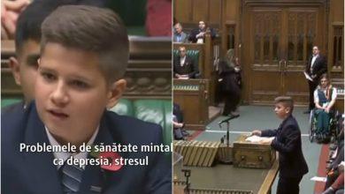 Photo of Ropote de aplauze în Parlamentul Marii Britanii pentru un copil român. Victor Ciunca, discurs de excepțional