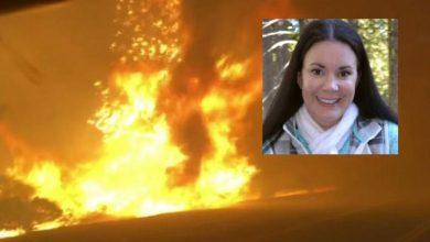 """Photo of Și-a sunat soțul din mijlocul flăcărilor din California: """"Eu o să mor, te iubesc"""". Răspunsul acestuia i-a salvat viața"""