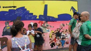 """Photo of Un român din Spania șocat de desenele pornografice stradale din Bilbao: """"Simpatizanții LGBT le vor și în școli!"""""""