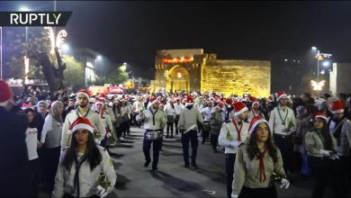 Photo of VIDEO Crăciun la Damasc cu brazi împodobiți și biserici pline