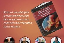"""Photo of Luna pentru viață 2019 la Iași: Lansarea cărții """"Mărturii ale părinților și rânduieli bisericești despre pierderea unui copil prin avort spontan sau la naștere"""""""