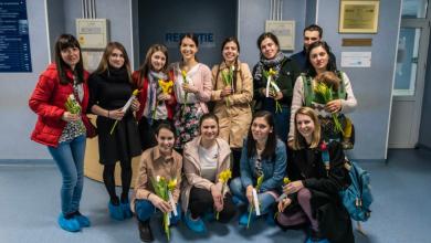 Photo of Flori pentru mămici la Maternitatea Filantropia