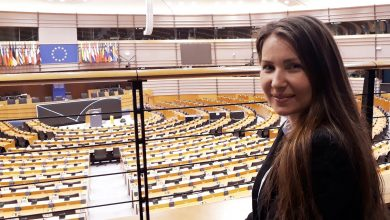 """Photo of VIDEO. Mirela Andrei, """"Babies Go to the European Parliament"""": """"Consider că persoanele vulnerabile pot avea o viață mai bună dacă li se oferă sprijin"""""""