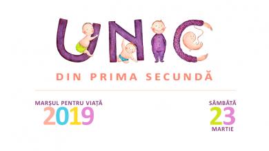 """Photo of Comunicat de presă: Luna pentru viață și Marșul pentru viață 2019 """"Unic din prima secundă"""": adevărul și dragostea ne vor salva"""