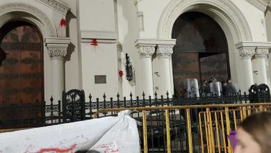 Photo of Biserica Catolică – principalul inamic al feministelor radicale care au protestat de Ziua Internațională a Femeii în Argentina, Uruguay și Spania,Spain,Uruguay