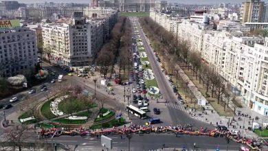 Photo of VIDEO din dronă. Marșul pentru viață 2019 la București