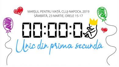 """Photo of VIDEO impresionant: """"Pentru că toți suntem unici din prima secundă"""" / Marșul pentru Viață 2019 Cluj-Napoca"""