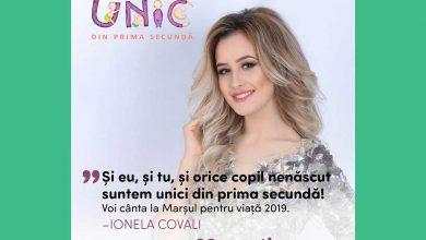 """Photo of Marșul pentru viață 2019 Chișinău, Ionela Covali cântă și susține: """"Și eu, și tu, și orice copil nenăscut suntem unici din prima secundă!"""""""