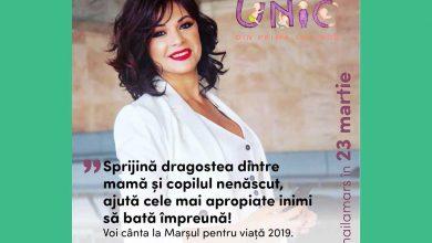 """Photo of Marșul pentru viață 2019 Chișinău, Roxana cântă și susține: """"Sprijină dragostea dintre mamă și copilul nenăscut, ajută cele mai apropiate inimi să bată împreună!"""""""