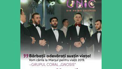 """Photo of Grupul coral Gnosis cântă și invită la Marșul pentru viață 2019 la Chișinău: """"Bărbații adevărați susțin viața"""" (FOTO, VIDEO)"""
