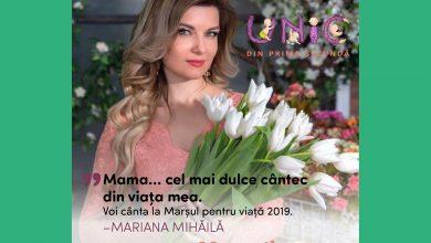 """Photo of Marșul pentru viață 2019 Chișinău, Mariana Mihăilă cântă și susține: """"Fiecare viață contează! Dacă Dumnezeu îți dăruiește un copil, o să-ți dea puteri și resurse pentru a crește acest copil"""""""