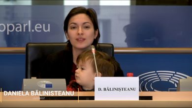 "Photo of VIDEO. Daniela Bălinișteanu, ""Babies Go to the European Parliament"": ""Criza mea de sarcină cu un copil diagnosticat a fi incompatibil cu viața"""