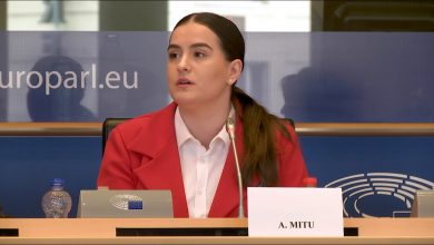 "Photo of VIDEO. Angela Mitu, ""Babies Go to the European Parliament"": ""Tinerele de azi se tem că nu vor avea sprijin după ce nasc"""