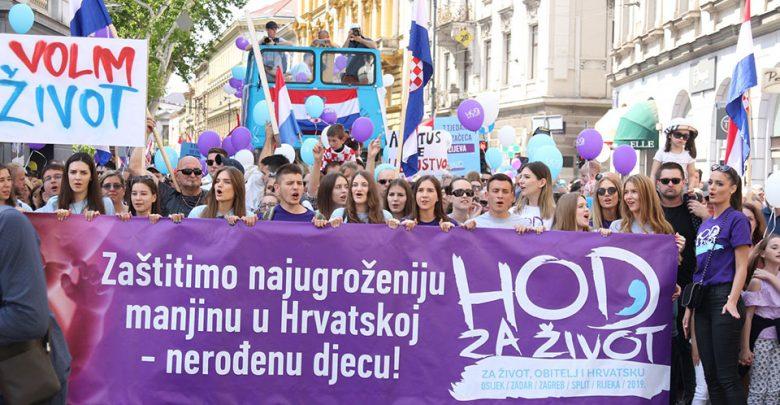 Photo of Imagini impresionante: Circa 40.000 la Marșul pentru viață 2019 din Croația, țară cu 4 milioane de locuitori