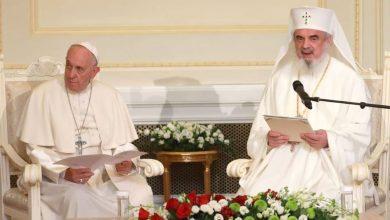 """Photo of PF Daniel către Papa Francisc: """"Predecesorii noștri ne cheamă să apărăm familia creștină tradițională formată din bărbat, femeie și copii, într-o Europă cu un evident declin demografic"""""""