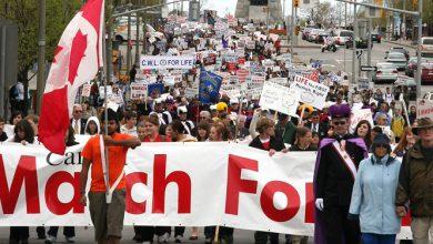 Photo of 9 mai – Marșul pentru Viață din Canada, ediția 22