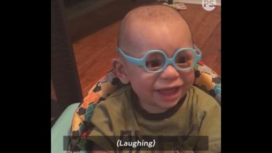 Photo of Reacția unui bebelus care își vede pentru prima dată mama cu ajutorul ochelarilor VIDEO