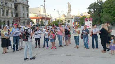 """Photo of VIDEO. """"România, nu uita: și Sorina e a ta!"""" Protest pentru Sorina la București"""