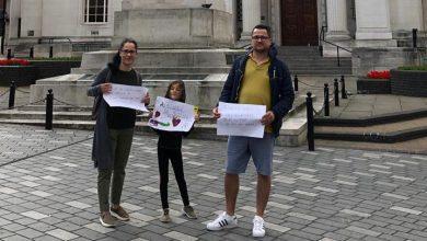 Photo of FOTO. Protest pentru Sorina la Luton, Marea Britanie