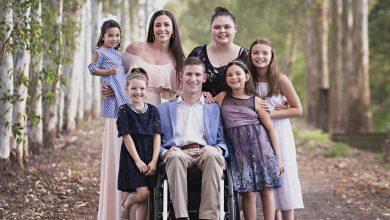 Photo of Credința în Dumnezeu dă putere unui cuplu tânăr, cu soțul paralizat, să adopte 5 fete