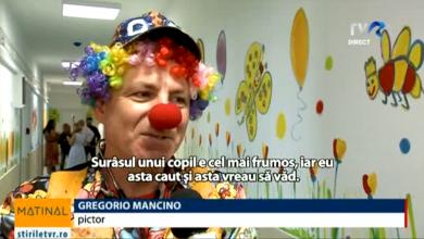 Photo of Un artist italian a pictat holul și saloanele secției de pediatrie a Institutului de Ocrotire a Mamei și Copilului din București